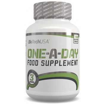 BioTech USA One a Day Multivitamin - 100 Tabs